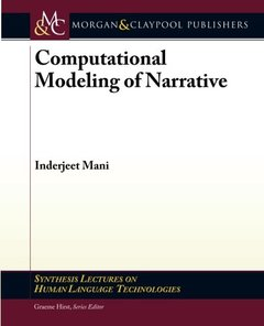 Computational Modeling of Narrative (Paperback)-cover
