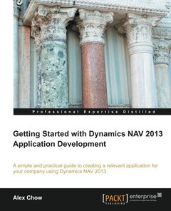 Getting Started with Dynamics NAV 2013 Application Development-cover