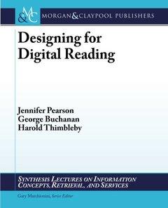 Designing for Digital Reading (Paperback)-cover