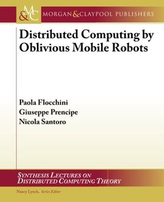Distributed Computing by Oblivious Mobile Robots (Paperback)-cover