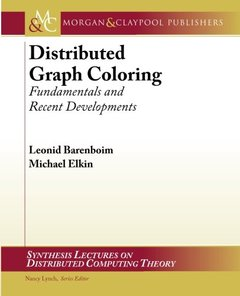 Distributed Graph Coloring: Fundamentals and Recent Developments (Paperback)-cover