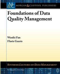 Foundations of Data Quality Management (Paperback)-cover
