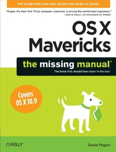 OS X Mavericks: The Missing Manual (Paperback)-cover