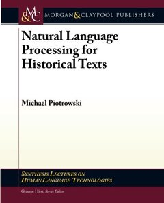 Natural Language Processing for Historical Texts (Paperback)-cover