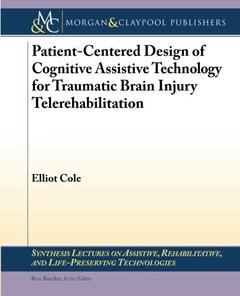 Patient-Centered Design of Cognitive Assistive Technology for Traumatic Brain Injury Telerehabilitation (Paperback)-cover