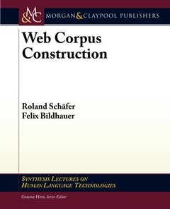 Web Corpus Construction (Paperback)-cover