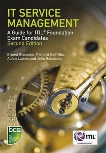 IT Service Management: A Guide for ITIL Foundation Exam Candidates, 2/e (Paperback)-cover