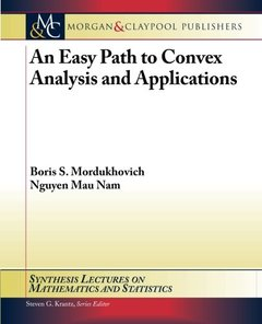 An Easy Path to Convex Analysis and Applications (Paperback)-cover