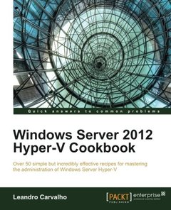 Windows Server 2012 Hyper-V Cookbook (Paperback)-cover