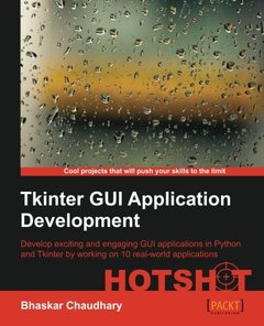 Tkinter GUI ApplicationDevelopment HOTSHOT-cover