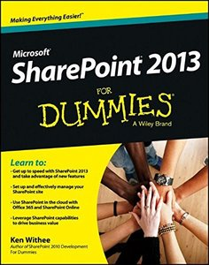 SharePoint 2013 For Dummies (Paperback)-cover