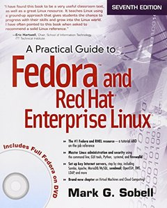 A Practical Guide to Fedora and Red Hat Enterprise Linux, 7/e (Paperback)-cover
