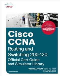 Cisco CCNA Routing and Switching 200-120 Official Cert Guide and Simulator Library (Multimedia DVD)-cover