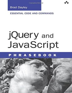jQuery and JavaScript Phrasebook (Paperback)-cover