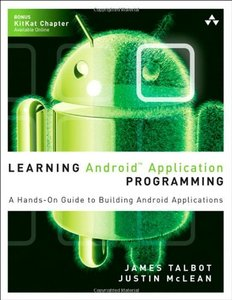 Learning Android Application Programming: A Hands-On Guide to Building Android Applications (Paperback)-cover