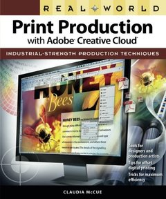 Real World Print Production with Adobe Creative Cloud (Paperback)-cover