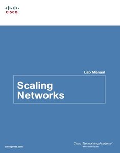 Scaling Networks Lab Manual (Paperback)-cover