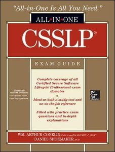 CSSLP Certification All-in-One Exam Guide (Hardcover)-cover