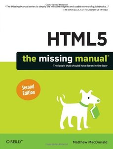 HTML5: The Missing Manual, 2/e (Paperback)-cover