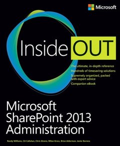 Microsoft SharePoint 2013 Administration Inside Out (Paperback)-cover