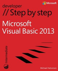 Microsoft Visual Basic 2013 Step by Step (Paperback)-cover