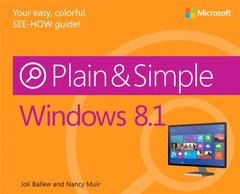 Windows 8.1 Plain & Simple (Paperback)-cover