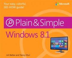 Windows 8.1 Plain & Simple (Paperback)-cover