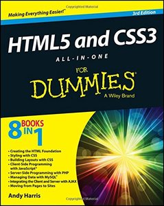 HTML5 and CSS3 All-in-One For Dummies, 3/e (Paperback)-cover