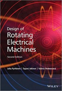 Design of Rotating Electrical Machines, 2/e (Hardcover)-cover