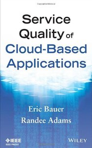 Service Quality of Cloud-Based Applications (Hardcover)-cover