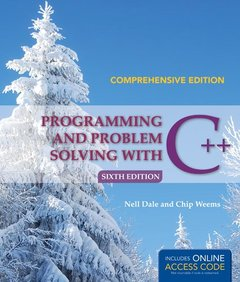 Programming And Problem Solving With C++: Comprehensive, 6/e (IE-Paperback)-cover