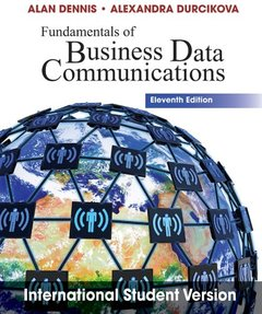 Fundamentals of Business Data Communications, 11/e (IE-Paperback)-cover