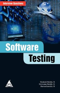 Software Testing: Interview Questions (Paperback)-cover