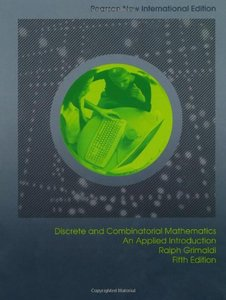 Discrete and Combinatorial Mathematics: An Applied Introduction, 5/e (IE-Paperback)-cover