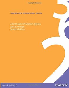 A First Course in Abstract Algebra, 7/e (IE)-cover