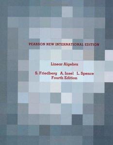 Linear Algebra, 4/e (IE-Paperback)