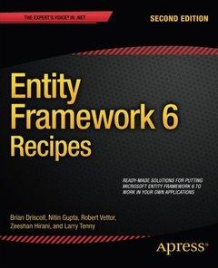 Entity Framework 6 Recipes, 2/e (Paperback)-cover