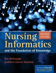 Nursing Informatics And The Foundation Of Knowledge, 2/e (Paperback)-cover