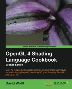 OpenGL 4 Shading Language Cookbook, 2/e (Paperback)-cover