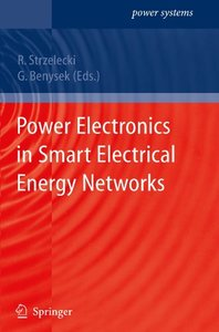 Power Electronics in Smart Electrical Energy Networks (Paperback)-cover
