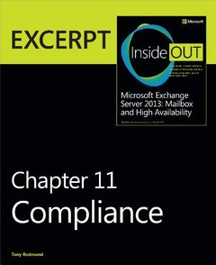 Compliance: EXCERPT from Microsoft Exchange Server 2013 Inside Out (Paperback)-cover
