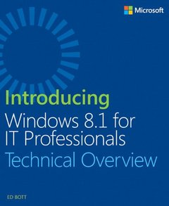 Introducing Windows 8.1 For IT Professionals (Paperback)-cover