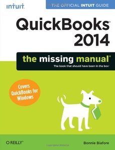 QuickBooks 2014: The Missing Manual: The Official Intuit Guide to QuickBooks 2014 (Paperback)-cover