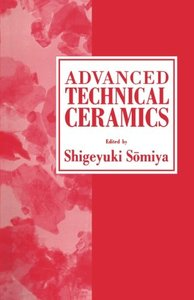 Advanced Technical Ceramics (Paperback)-cover