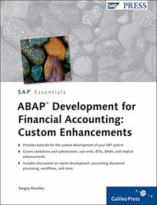 ABAP Development for Financial Accounting: Custom Enhancements (Hardcover)-cover