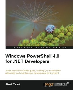 Windows PowerShell 4.0 for .NET Developers-cover