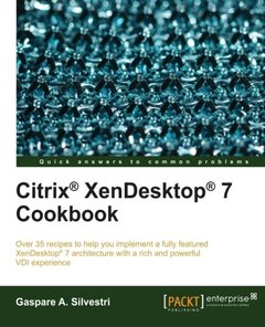 Citrix XenDesktop 7 Cookbook-cover