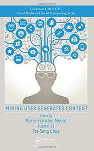Mining User Generated Content (Hardcover)-cover