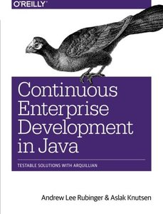 Continuous Enterprise Development in Java (Paperback)-cover