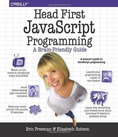 Head First JavaScript Programming (Paperback)-cover